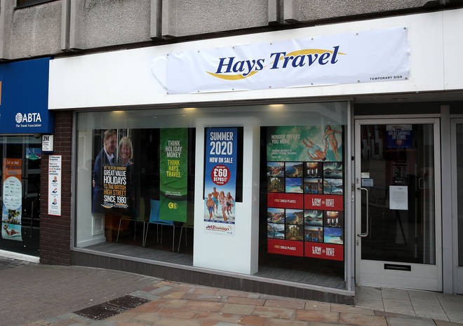 Hays Travel is cutting up to 878 jobs out of a total workforce of 4,500 people, the firm announced