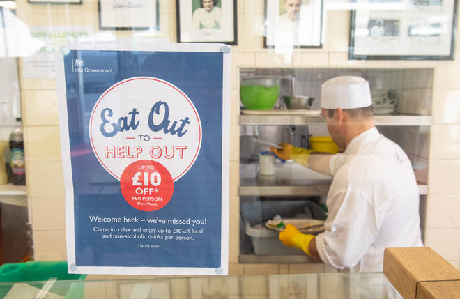 Diners can get 50% off on the scheme at participating businesses
