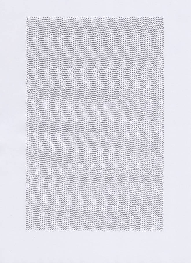 The full length version of Forward Slash typed out on a piece of A4 paper