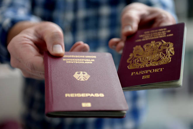 The number of UK citizens attaining an EU member state passport also leapt - by more than 500% across the Continent and more than 2,000% in Germany
