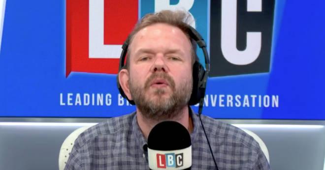 James O'Brien has a penny drop moment live on air
