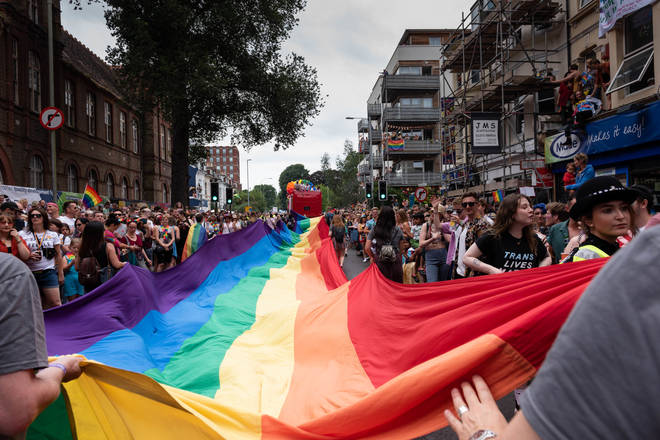 Brighton Pride was attended by around 300,000 people in 2019