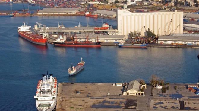 The blast happened near docks in Beirut