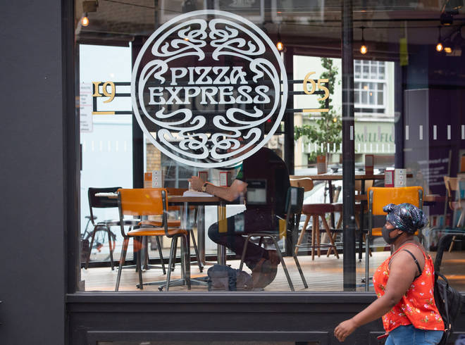 Pizza Express has said it could close around 67 of its UK restaurants, with up to 1,100 jobs at risk