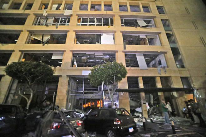 The blast was felt 4 kilometres away