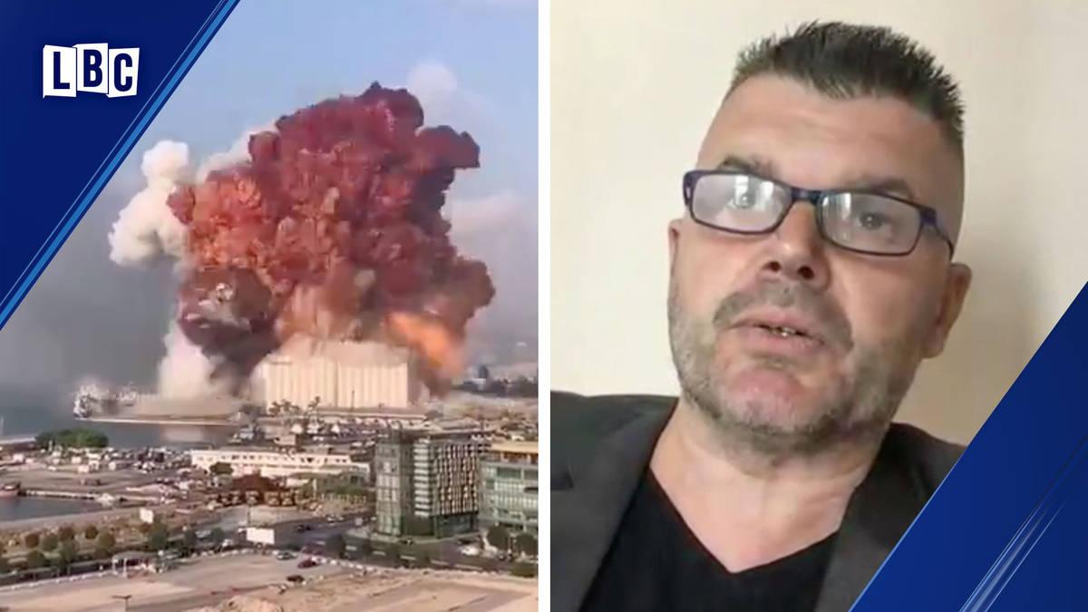 Professor Hal explains what happened during Beirut explosion