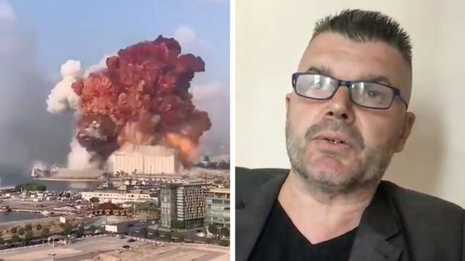 Professor Hal explains what we saw during the Beirut explosion