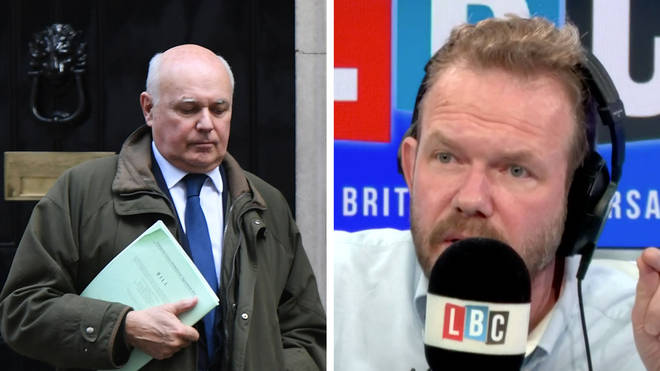 James O'Brien compared two quotes from Iain Duncan Smith