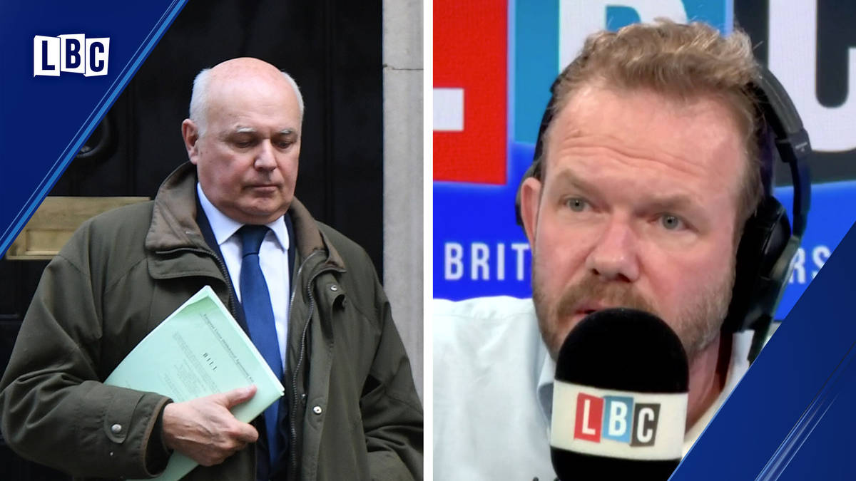 James O'Brien compares two contradictory statements from Iain Duncan Smith