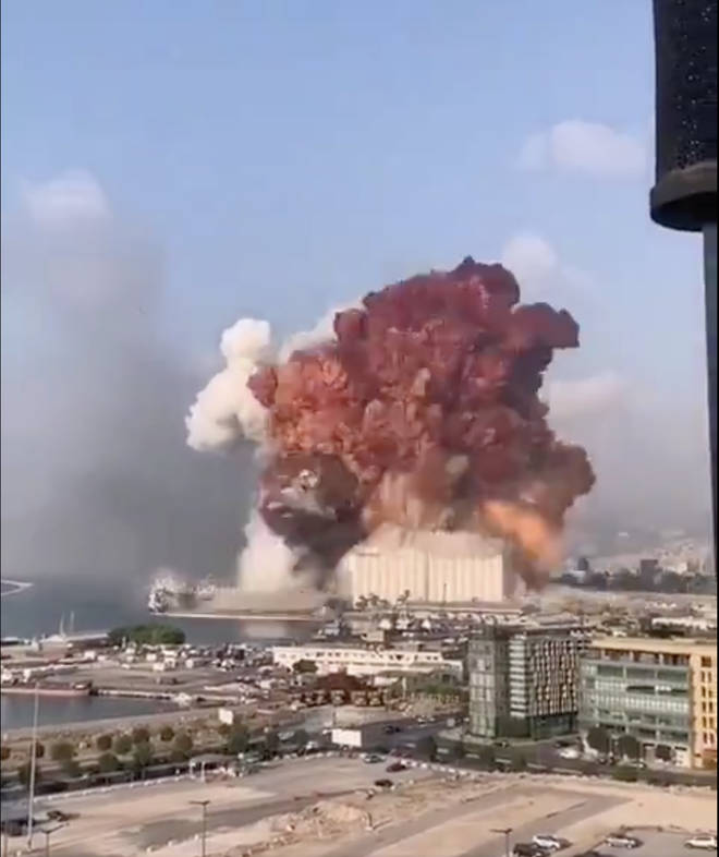 An explosion at Beirut port shocked the world on Tuesday