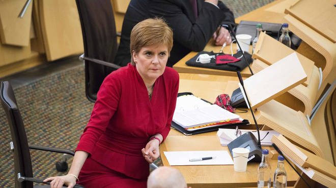 Nicola Sturgeon defended the SQA amid a growing furore