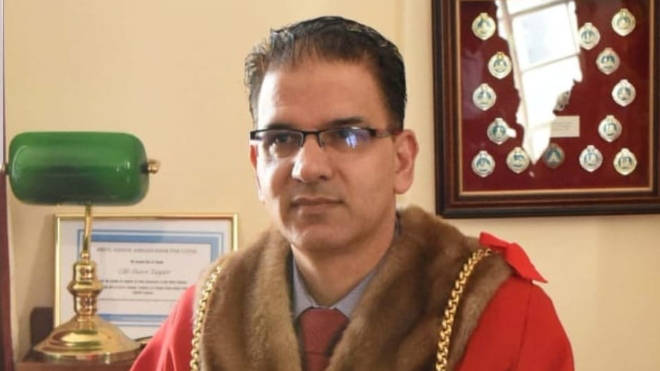 Tahir Malik has stepped down as Mayor of Luton