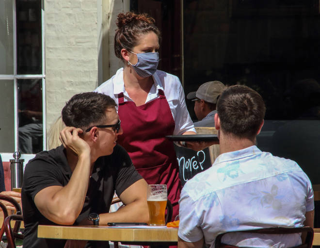 Coronavirus infection rates went down even after shops and pubs reopened, a new study has shown