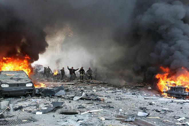 Rescue efforts are underway in Beirut