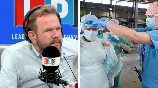 James O'Brien heard about the contract given out for PPE