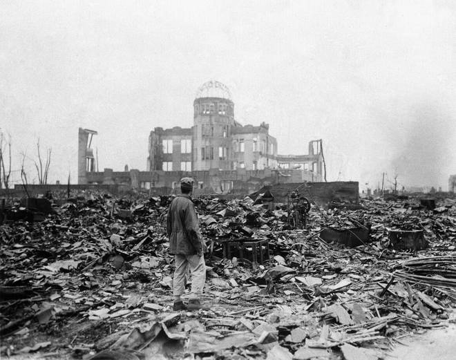 World leaders are commemorating 75 years since the atomic bombing of Hiroshima