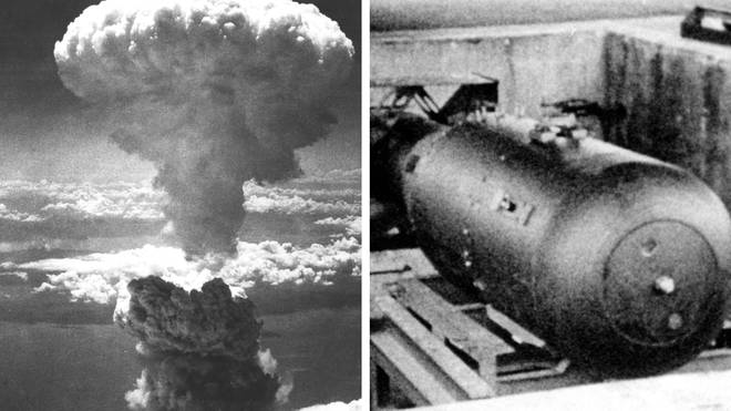 The first nuclear bomb killed 140,000 people - the second attack on Nagasaki killed a further 70,000.