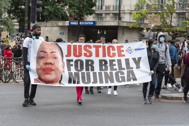 Many have protested over Belly Mujinga's death