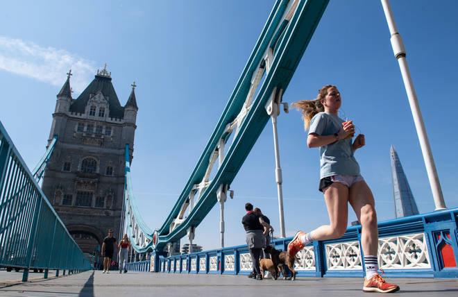 Next year's London Marathon has been postponed until October