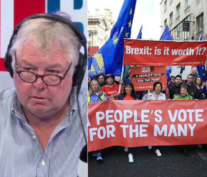 Nick Ferrari spoke to a People's Vote campaigner