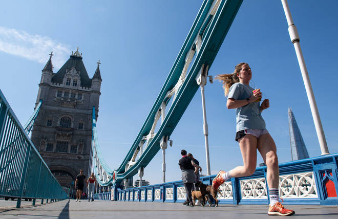 Next year's London Marathon has been postponed until October