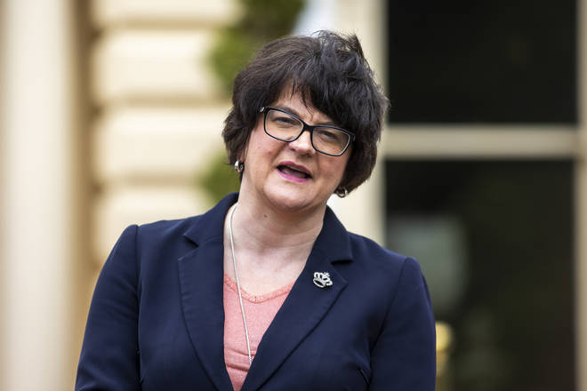 Arlene Foster has announced that pubs will stay closed