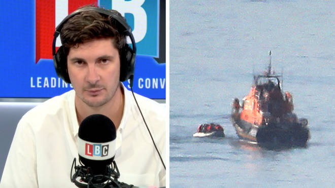 Tom Swarbrick spoke to Rear Admiral Chris Parry about the migrant crossings