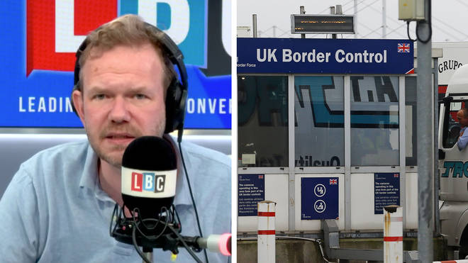 James O'Brien's caller said he would not be quarantining