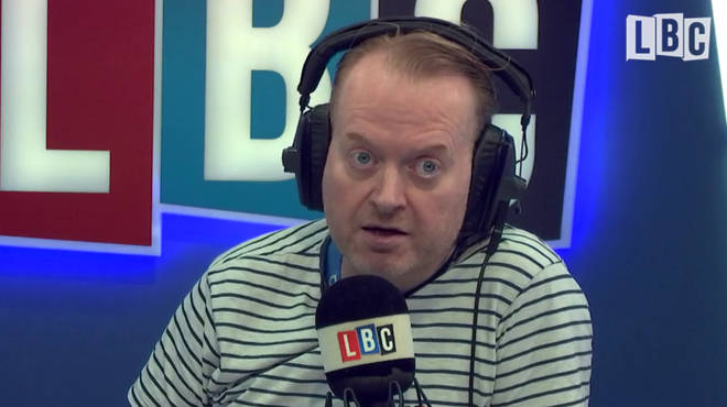 Darren Adam criticised the double standards over relationships with people in authority