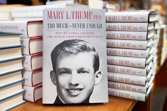 Mary Trump's book Too Much and Never Enough: How My Family Created the World's Most Dangerous Man, referring to Donald Trump, sold a million copies on its first day