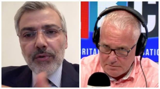 The Lebanese ambassador's comments left Eddie Mair confused