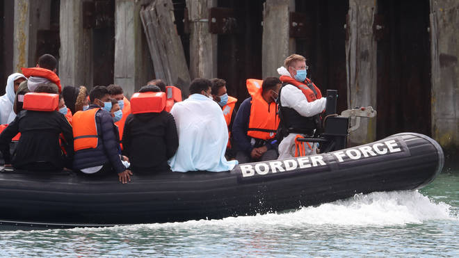 Migrant crossings have reached record levels this week