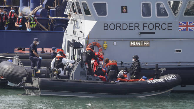 Record numbers of migrants have crossed the Channel this week