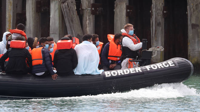 More migrant boats arrived into Dover on Saturday morning