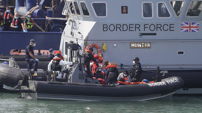This week has seen record numbers of migrant boats