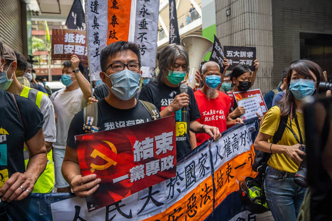 Ben Rogers warned that if we stand by while China cracks down on freedom in Hong Kong they will move on to Taiwan