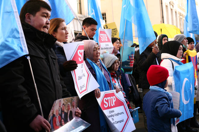 Reports have shown Uighur Muslims are being held in internment camps in China