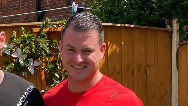 The 34-year-old was attacked in the gardens of Wigan Parish Church shortly before 7.50pm on Thursday and pronounced dead at the scene