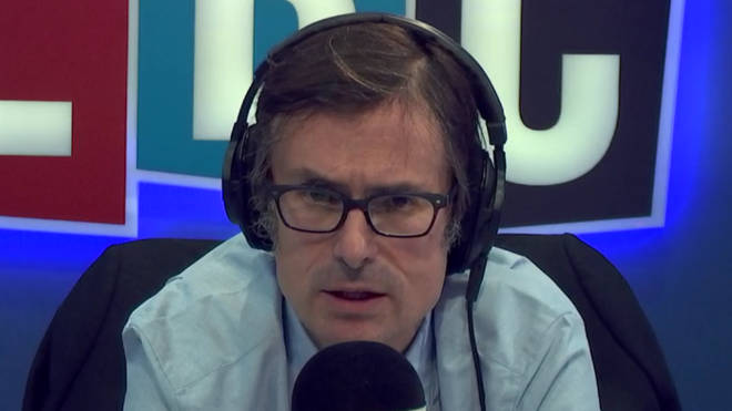 Robert Peston gave his thoughts on mental health in his LBC show