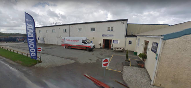 The incident happened at Sharps Brewery in north Cornwall