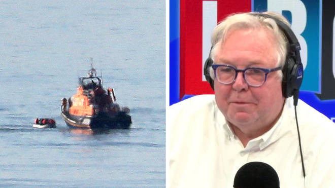 Nick Ferrari spoke to a fisherman who has rescued migrants on The Channel