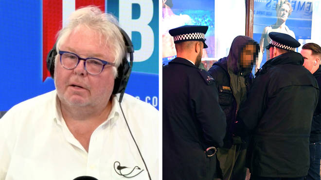 Nick Ferrari heard from a man who had been stopped by police 67 times