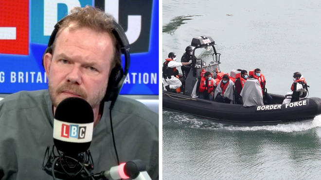James O'Brien had some facts for people who say France should do more for migrants