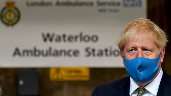 Boris Johnson has announced funding for NHS upgrades to cope with a possible second wave of coronavirus