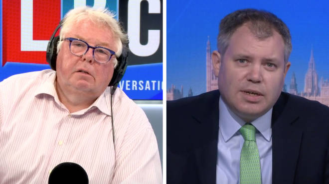 Nick Ferrari challenges Health Minister Ed Argar over his claims about Test & Trace