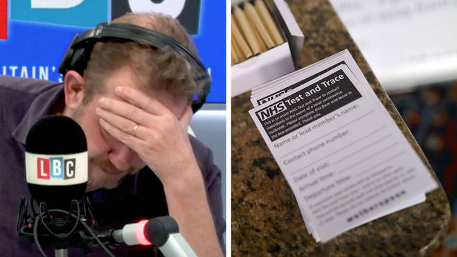 James O'Brien heard how little a Test & Trace employee did