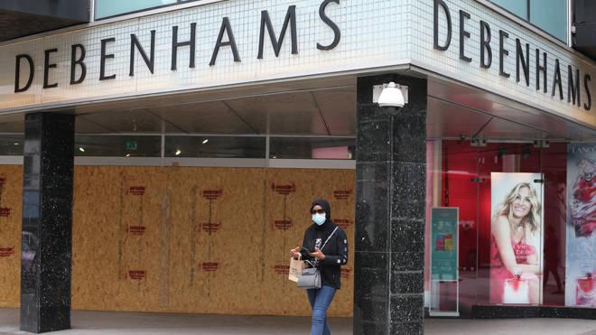 Debenhams is to axe 2,500 jobs