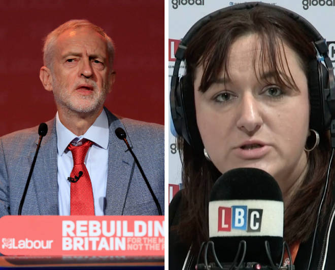 Jeremy Corbyn was condemned by a Jewish Labour MP