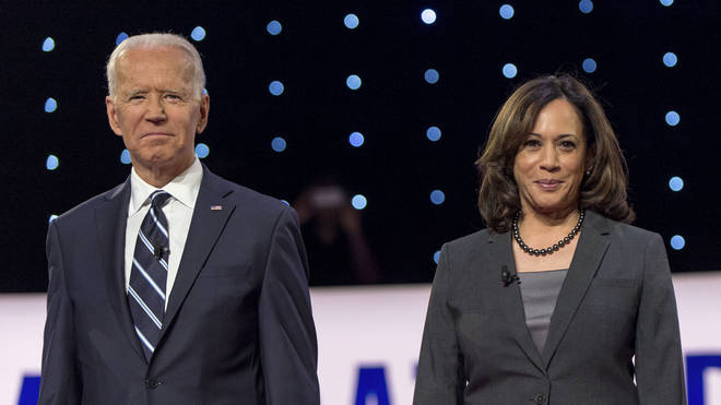 California Senator Kamala Harris has been chosen as Joe Biden's running mate