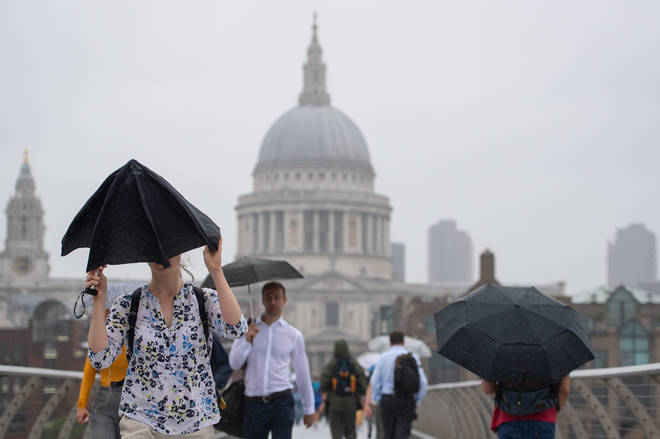 England's heatwave is set to continue, with London expecting a top temperature today of 31 degrees